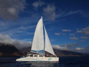 Maui catamaran zeilen Hawai