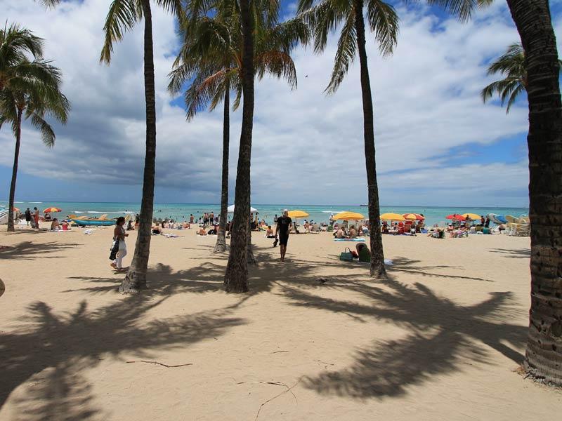 Vakantie Hawaii - Waikiki Beach