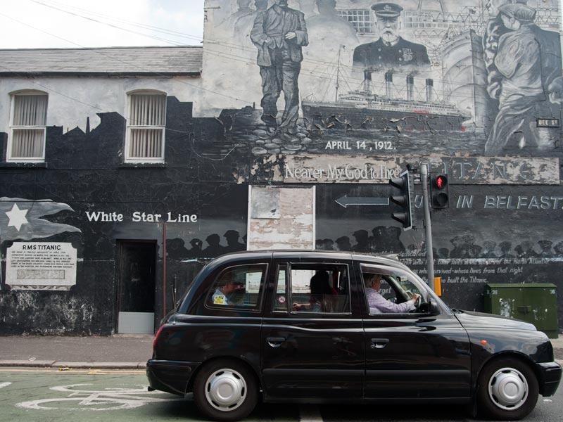 Belfast Sehenswürdigkeiten Irland Murals