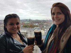 Dublin Reise Brauereibesuch Guinness Storehouse