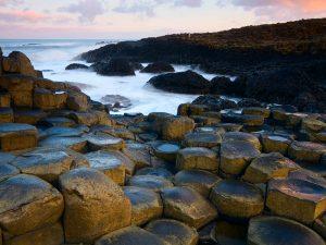 Londonderry Coastal Causeway Route Irland