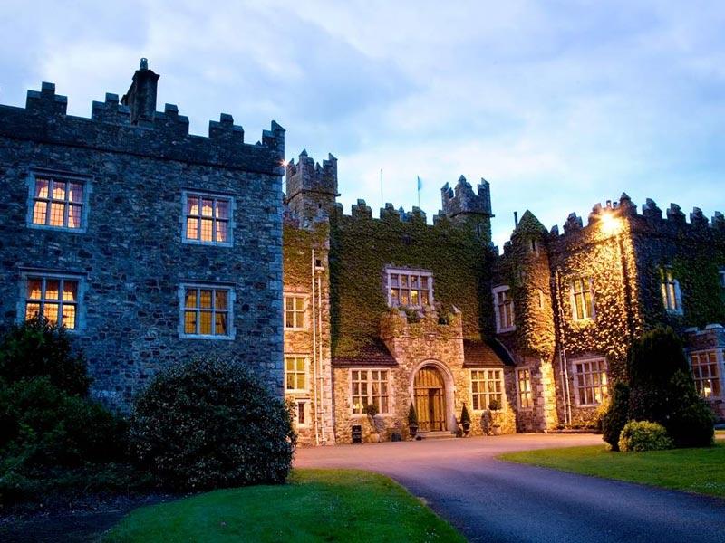 Waterford Castle Schlossübernachtung Irland