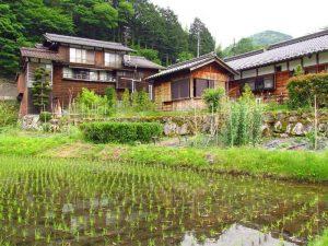 Japans traditionelles Kiso-Tal