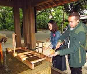 Japan traditionell erleben Meji Schrein in Tokio