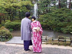 Kenroku-en in Kanazawa