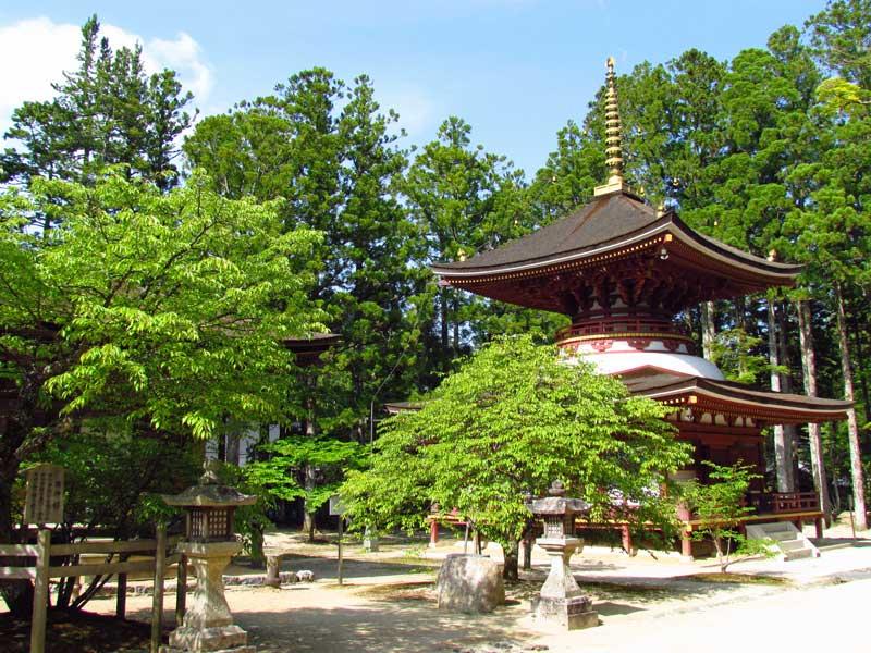 Japan Reise von Tokio nach Kyoto Koyasan Tempel