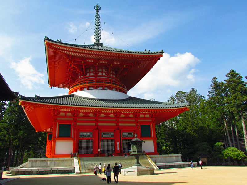 Koyasan Tempel bei Reise von Tokio nach Kyoto
