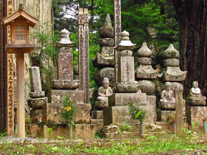 Koyasan Wald Denkmäler Japan Reise