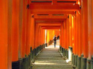 Fushimi Inari Schrein Japan Rundreise