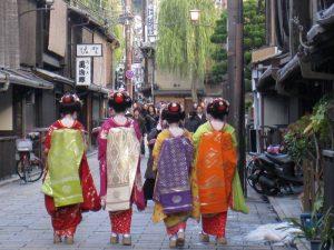 Gion Viertel in Kyoto bei traditioneller Japan Rundreise