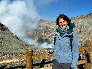 Aso Vulkan: Krater