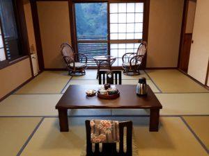 Ryokan in Yunohira bei Kyushu Reise