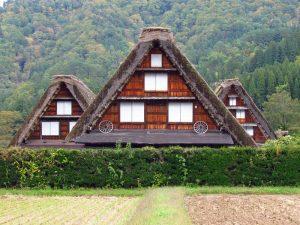 Japans traditionelle Shirakawago Region