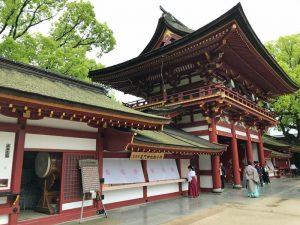 Von Fukuoka nach Dazaifu