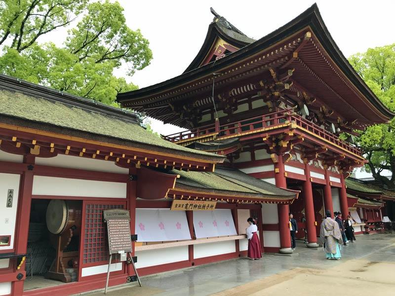 Kyushu Rundreise Dazaifu Tempel