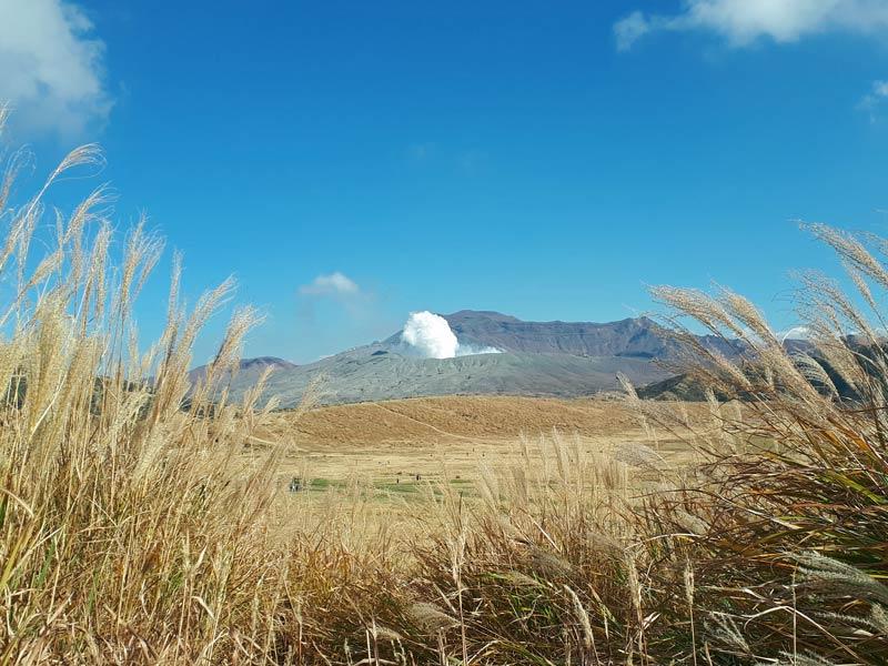 Kyushu Rundreise Mount Aso Vulkan