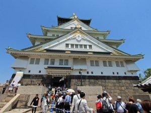 Burg von Osaka Japan