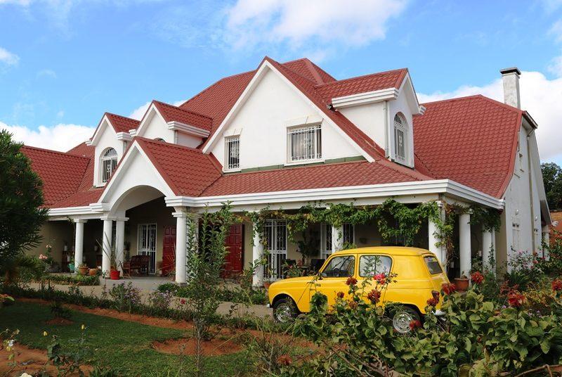 Madagaskar Urlaub Antananarivo Unterkunft mit Garten
