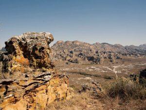 Aussicht im Isalo Nationalpark bei Madagaskar Rundreise