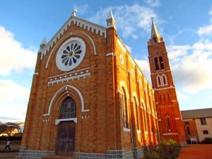 Kirche in Ambalavao - 3 Wochen Madagaskar