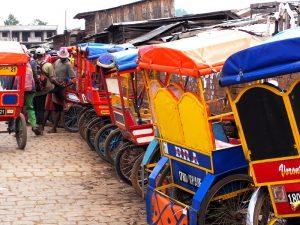 Pousse pousse Rikscha 3 Wochen Madagaskar