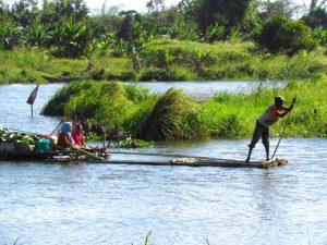 Pangalanes-Kanal bei Madagaskar Rundreise und Baden