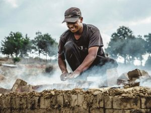 Feldarbeit in Antsirabe in Madagaskar