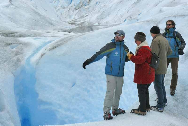 Gletsjer Argentinie vakantie