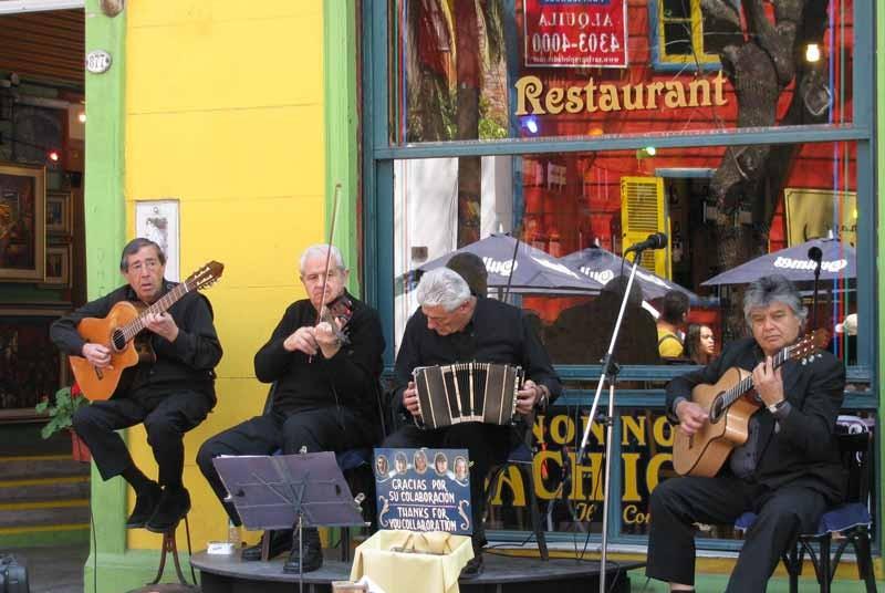 Vakantie Argentinie muziek