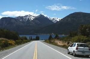 Argentinie vervoer: landschap onderweg