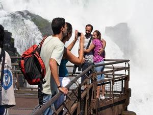Iguazu watervallen uitzicht