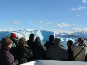 vakantie Argentinië boottocht gletsjers patagonie