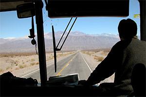 Noord Argentinie Chili reis: bus