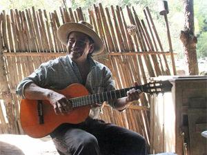 Traditionele gaucho nabij Salta, Argentinie