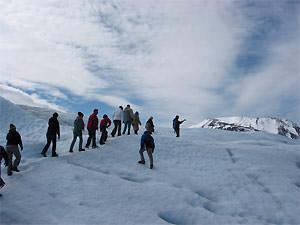 Rondreis Patagonie: El Calafate ijstrekking Perito Moreno