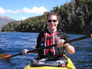 Busreis naar Patagonie: kayakken