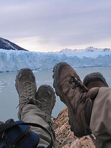 Reis Patagonie: even uitrusten..