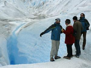 Patagonie reis: gletsjer van dichtbij
