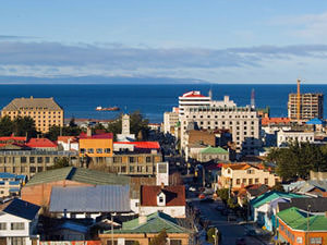 Kaart Punta Arenas Chili