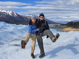 Argentinie reizen: ijswandelen