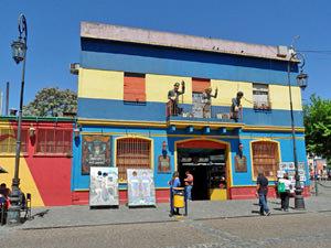 Patagonie rondreis: La Boca