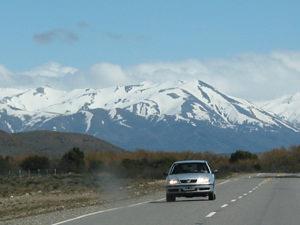 Reis naar Patagonie: Bariloche auto