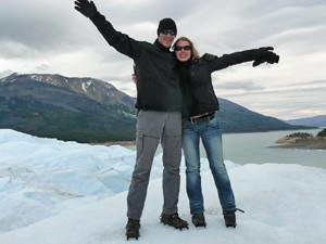 Gletsjers Argentinie vakantie