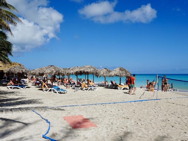 Varadero strand met kinderen