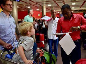 Reisroute Cuba met kinderen - Aankomst Cuba Riksja Family