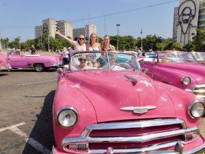 Havana met kinderen - oldtimer