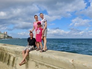 Cuba met kinderen - Havana, Cuba