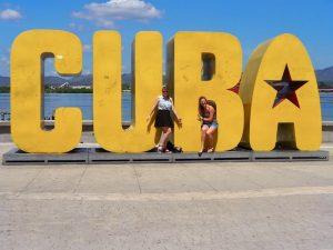 Santiago de Cuba met kinderen