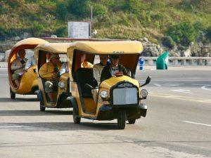Vervoer Cuba - Coco taxi Cuba