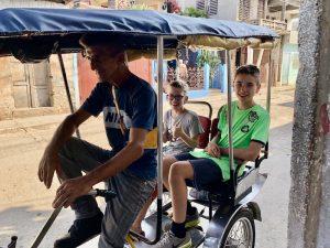 Cuba twee weken - bicitaxi Trinidad